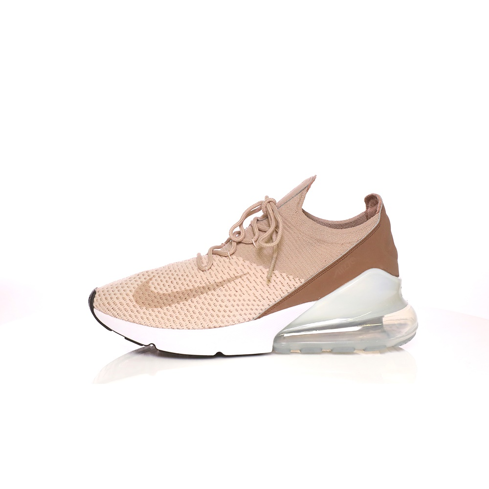 NIKE – Γυναικεία παπούτσια για τρέξιμο AIR MAX 270 FLYKNIT μπεζ