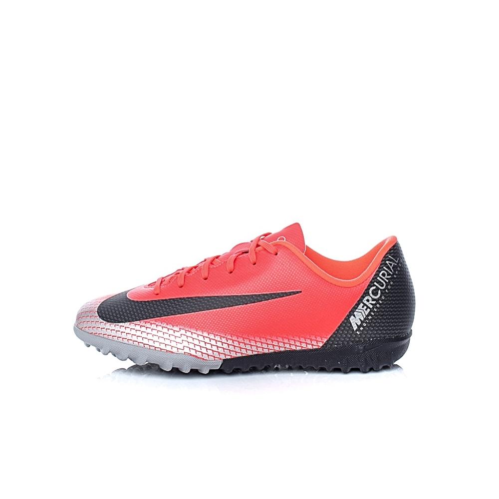 NIKE - Παιδικά παπούτσια ποδοσφαίρου JR VAPOR 12 ACADEMY GS CR7 TF κόκκινα παιδικά boys παπούτσια αθλητικά