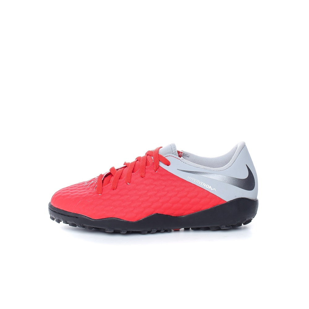 NIKE – Παιδικά παπούτσια NIKE JR HYPERVENOM 3 ACADEMY TF κόκκινα-γκρι