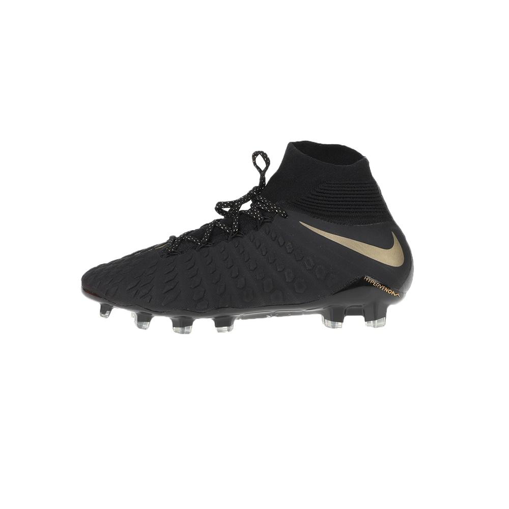 NIKE – Ανδρικά παπούτσια ποδοσφαίρου HYPERVENOM 3 ELITE DF FG μαύρα