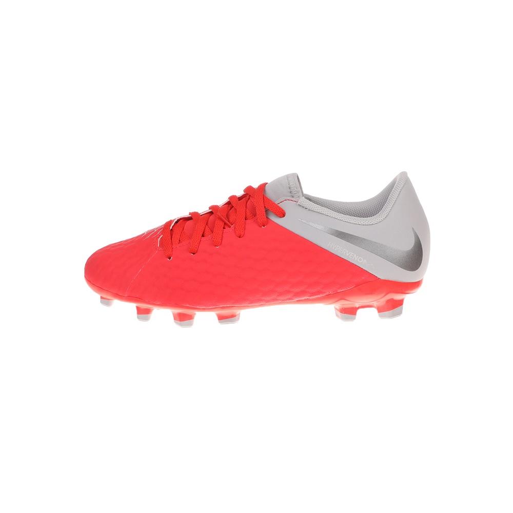 NIKE – Παιδικά παπούτσια ποδοσφαίρου JR HYPERVENOM 3 ACADEMY FG κόκκινα