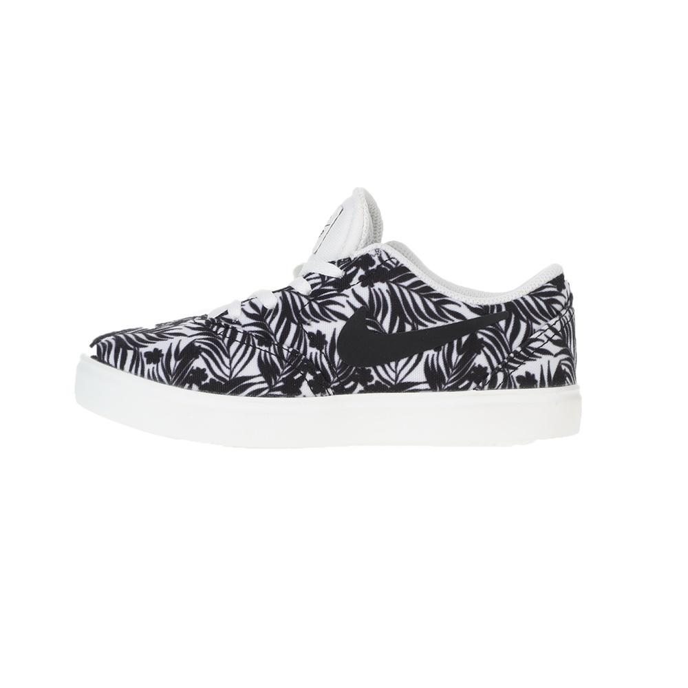 NIKE – Παιδικά sneakers NIKE SB CHECK PRM (PS) ασπρόμαυρα