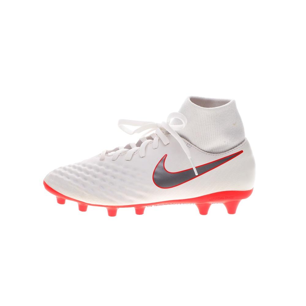 NIKE – Ανδρικά ποδοσφαιρικά παπούτσια NIKE OBRA 2 ACADEMY DF AG-PRO λευκά