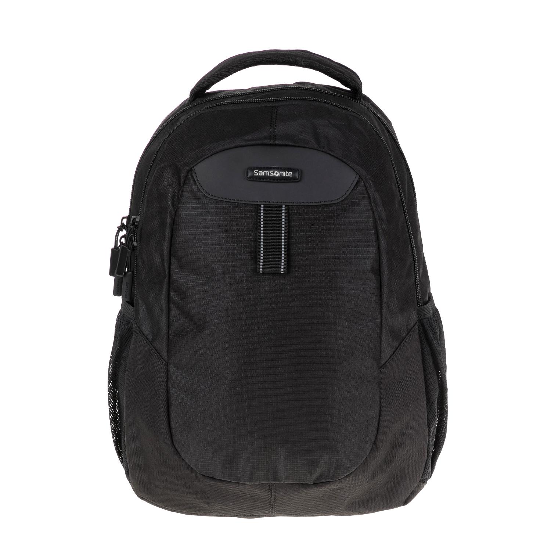 SAMSONITE - Τσάντα πλάτης WANDERPACKS BACKPACK S μαύρη γυναικεία αξεσουάρ τσάντες σακίδια πλάτης