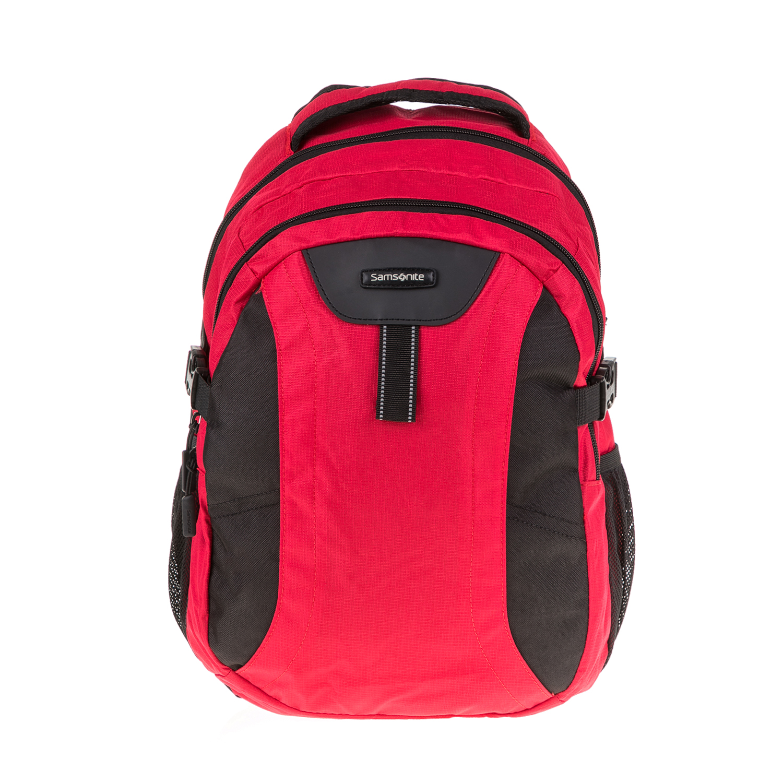 SAMSONITE - Τσάντα πλάτης WANDERPACKS LAP κόκκινη γυναικεία αξεσουάρ τσάντες σακίδια πλάτης