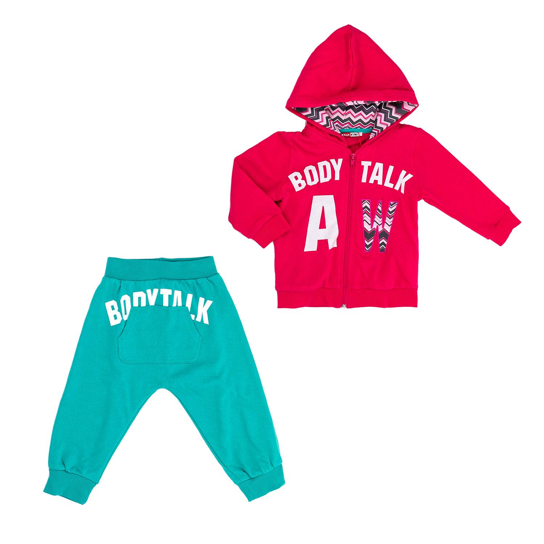 BODYTALK - Παιδικό σετ BODYTALK κόκκινο-μπλε παιδικά girls ρούχα αθλητικά