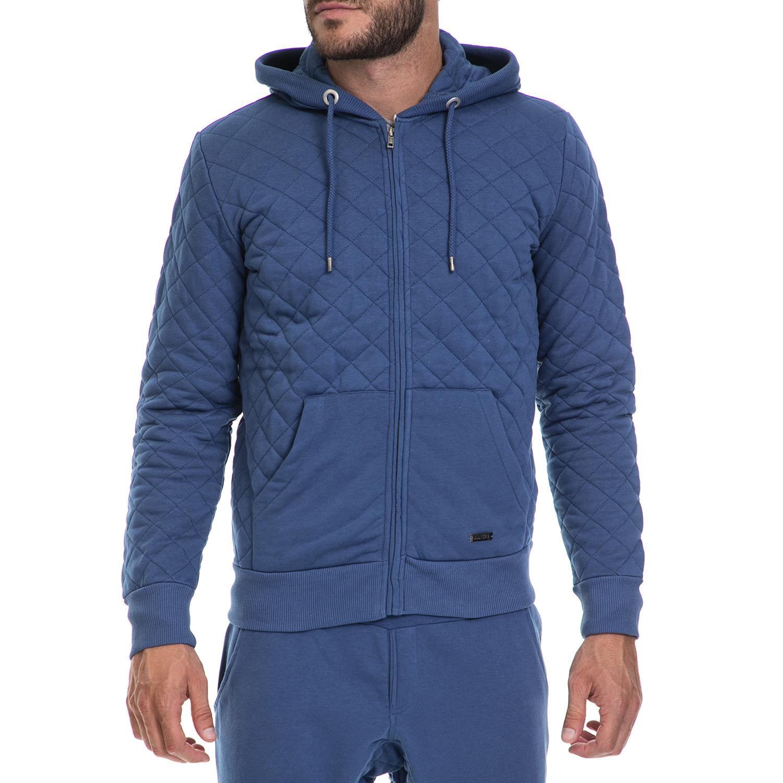 BODYTALK - Ανδρική ζακέτα BODYTALK μπλε ανδρικά ρούχα φούτερ ζακέτες