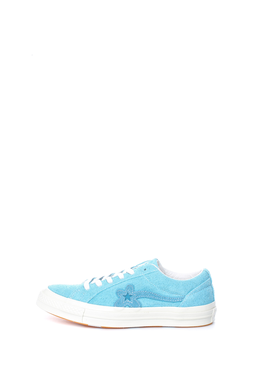 CONVERSE – Γυναικεία παπούτσια CONVERSE QS One Star Golf Le Fleur μπλε