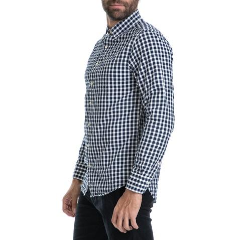 d69aec34c2fd Ανδρικό πουκάμισο GANT μπλε-λευκό (1626997.0-0503)