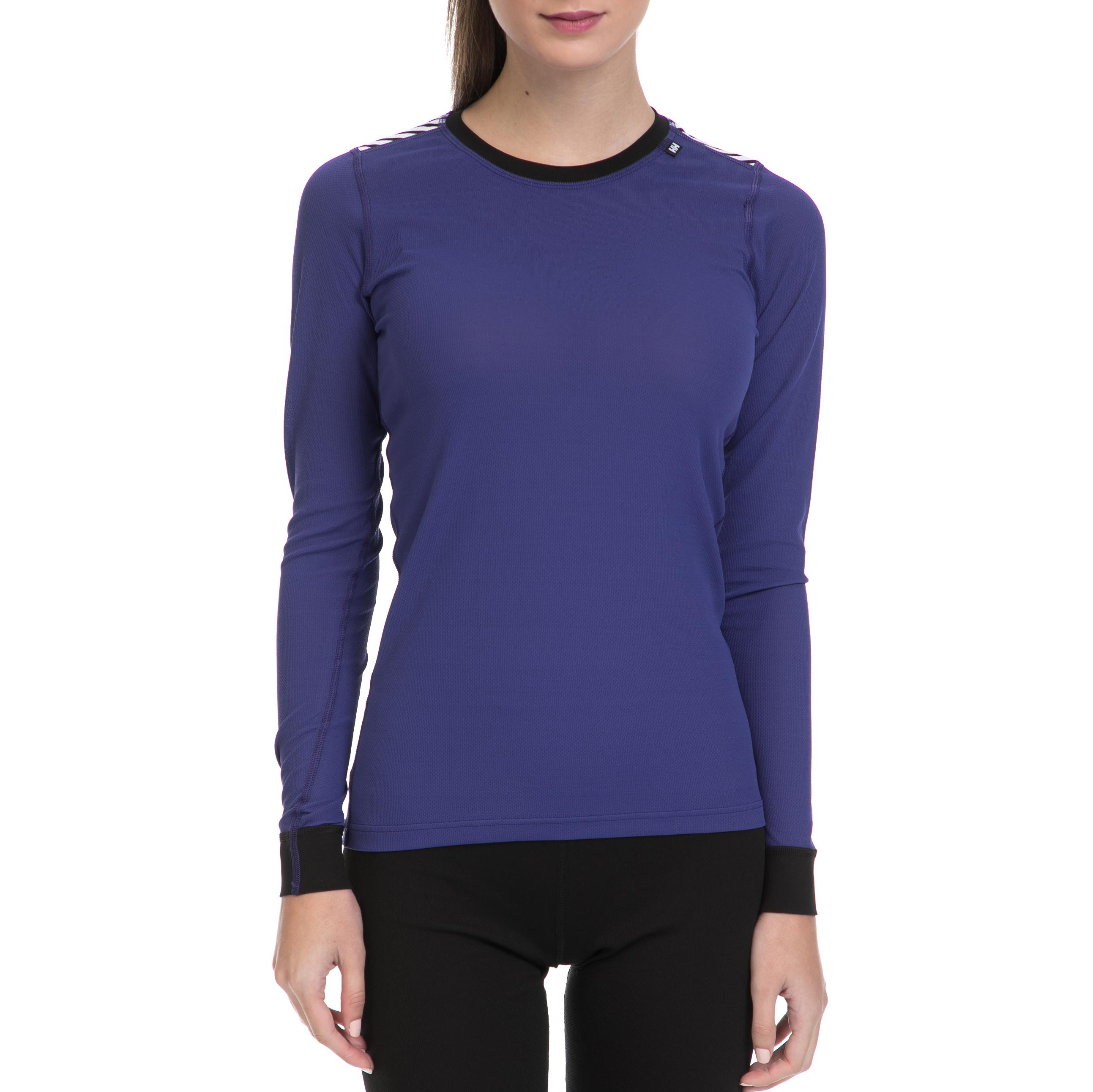 6221365c48fa HELLY HANSEN - Γυναικεία ισοθερμική μπλούζα HELLY HANSEN μοβ