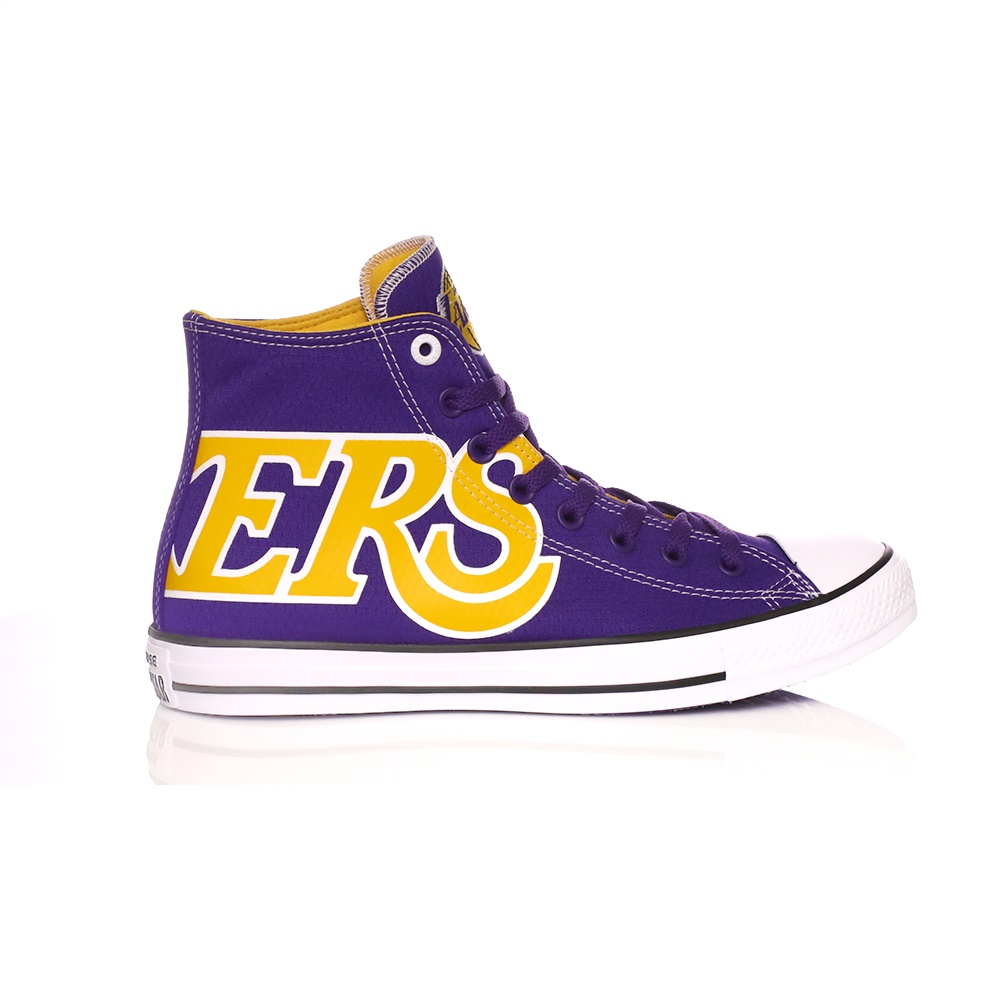 CONVERSE – Unisex μποτάκια Converse Chuck Taylor Nba Los Angeles Lakers