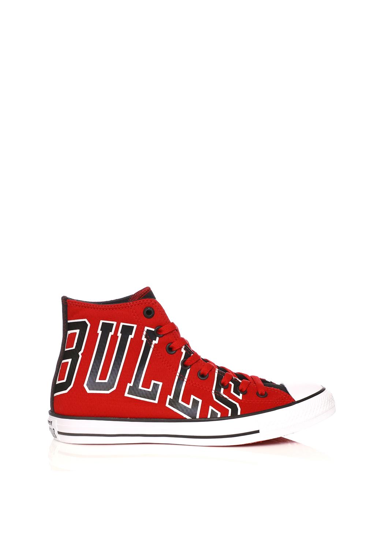 d5951f0704f CONVERSE – Unisex μποτάκια Converse Chuck Taylor NBA Chicago Bulls κόκκινα