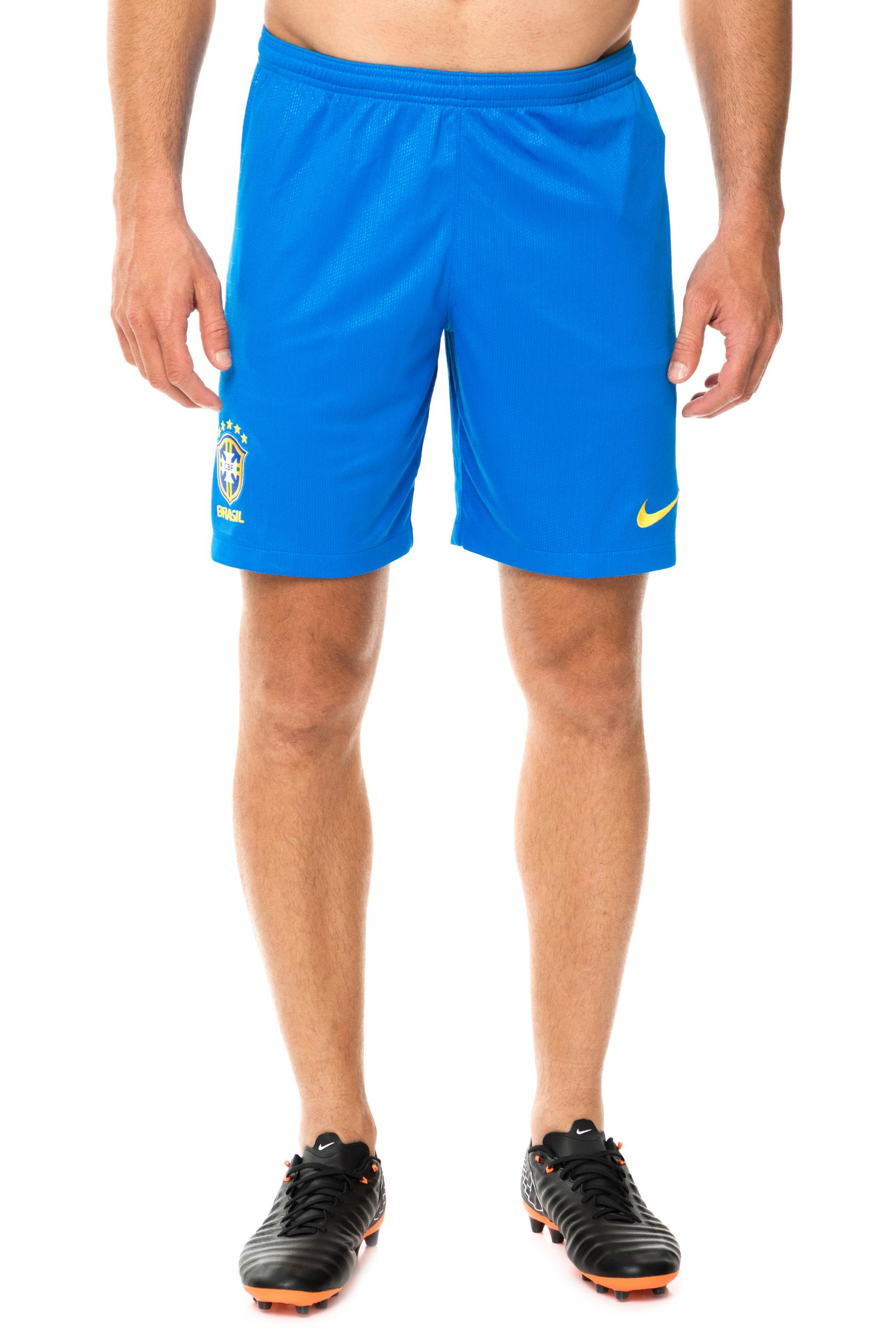 NIKE - Ανδρική βερμούδα ποδοσφαίρου CBF M NK BRT STAD SHORT HM γαλάζια