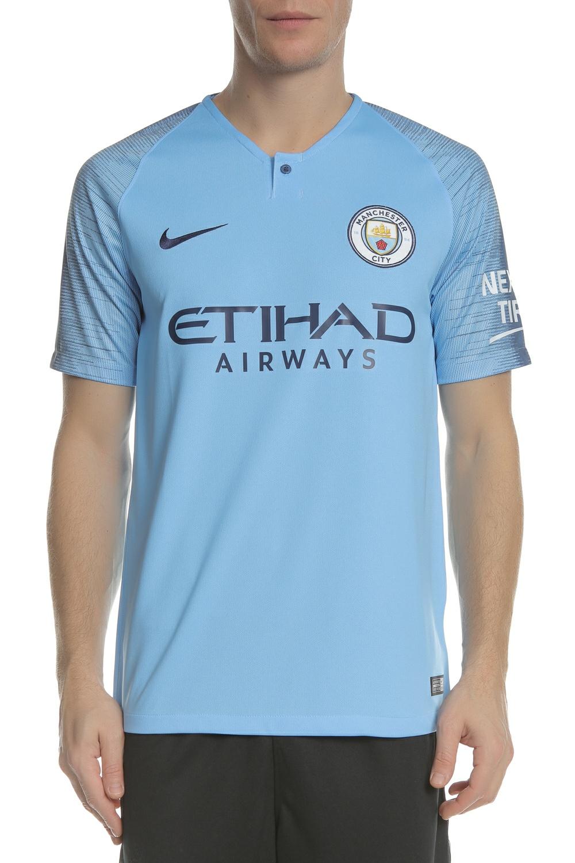 NIKE - Ανδρική κοντομάνικη φανέλα Nike Breathe Manchester City FC Home Stadium μ ανδρικά ρούχα αθλητικά t shirt