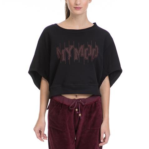 659c784d56e5 Γυναικεία μπλούζα ΜΥΜΟΟ μαύρη - MYMOO (1627766.0-0071)