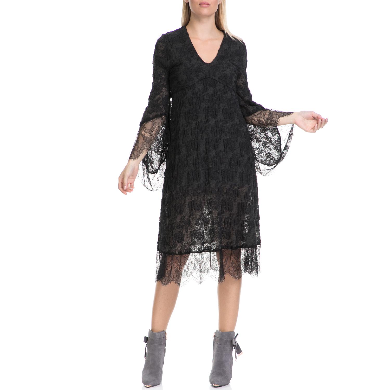 MYMOO - Γυναικείο φόρεμα MYMOO χακί γυναικεία ρούχα φορέματα μέχρι το γόνατο