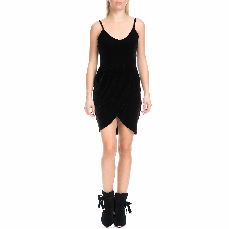 MYMOO - Γυναικείο φόρεμα MYMOO μαύρο γυναικεία ρούχα φορέματα μίνι