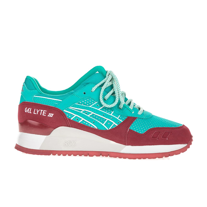ASICS – Γυναικεία sneakers ASICS GEL-LYTE III τιρκουάζ-μπορντό