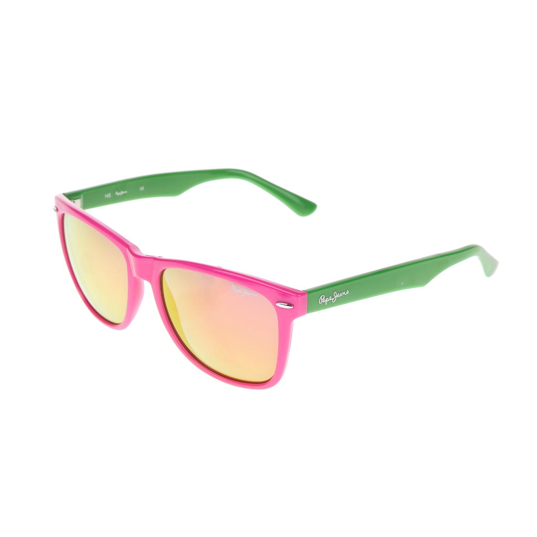 PEPE JEANS - Γυναικεία γυαλιά ηλίου PEPE JEANS πράσινα-φούξια γυναικεία αξεσουάρ γυαλιά ηλίου
