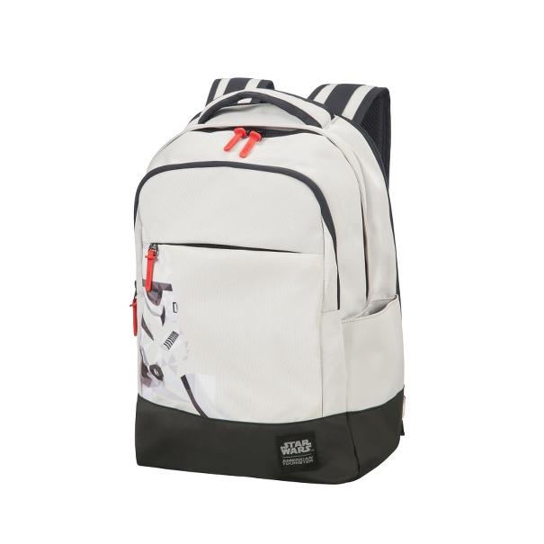 AMERICAN TOURISTER - Τσάντα πλάτης GRAB'N'GO DISNEY λευκή