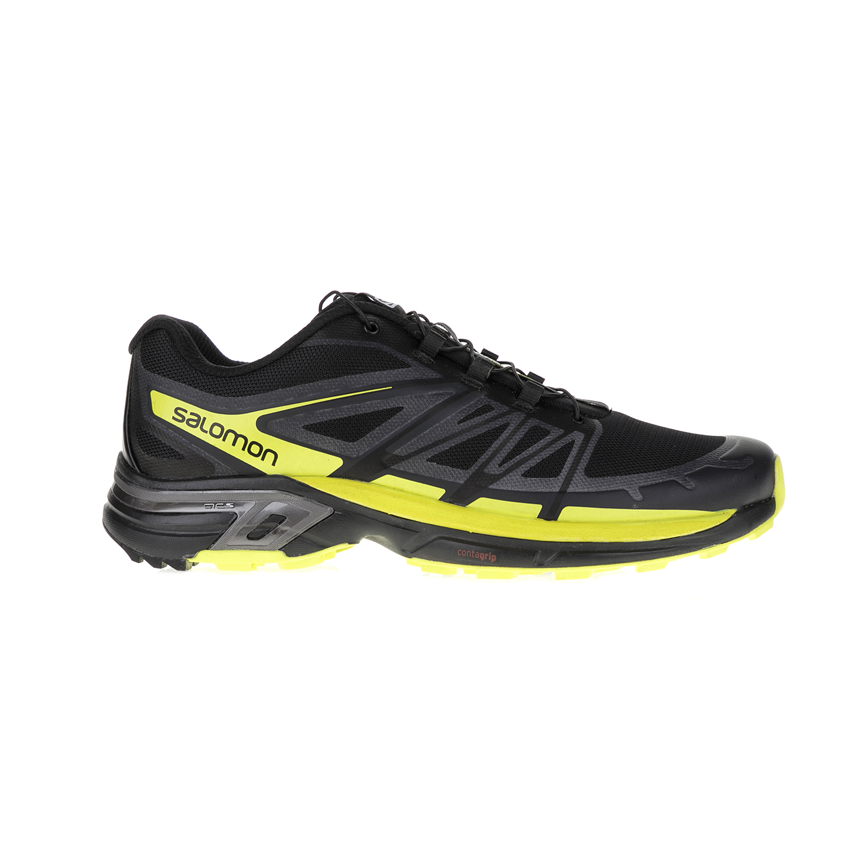 SALOMON – Ανδρικά παπούτσια SALOMON TRAIL RUNNING SHOES WINGS μαύρα-κίτρινα