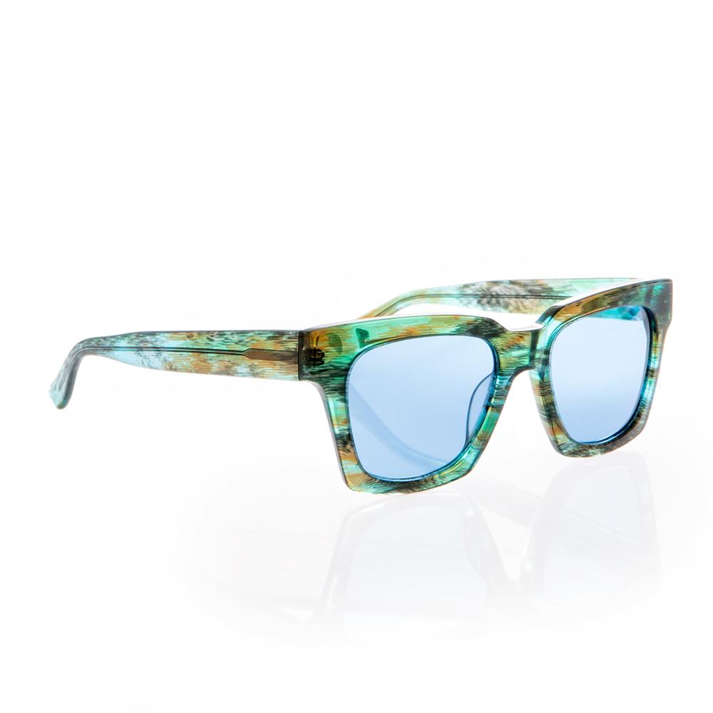 FOLLI FOLLIE - Γυναικεία τετράγωνα γυαλιά ηλίου Folli Follie δίχρωμα γυναικεία αξεσουάρ γυαλιά ηλίου