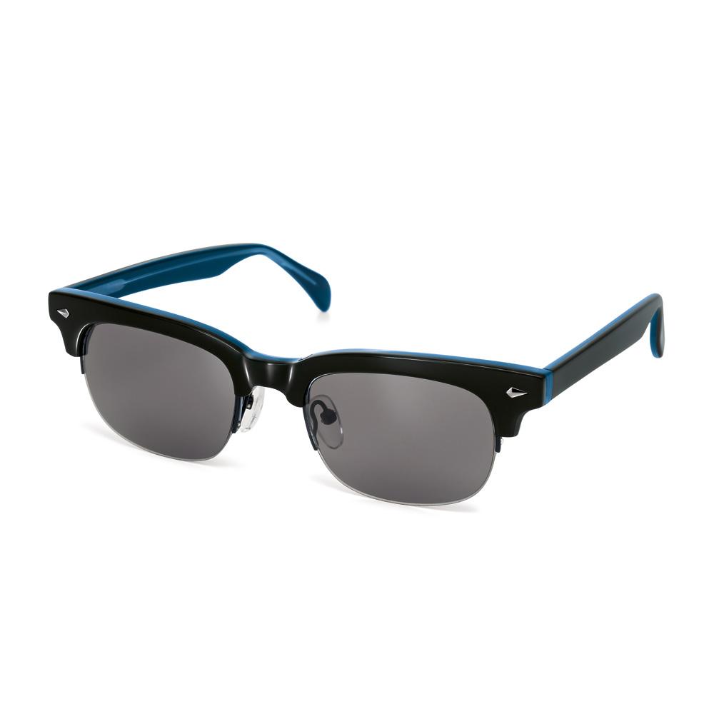 FOLLI FOLLIE - Γυναικεία γυαλιά ηλίου με τρουκς Folli Follie μαύρα - μπλε γυναικεία αξεσουάρ γυαλιά ηλίου