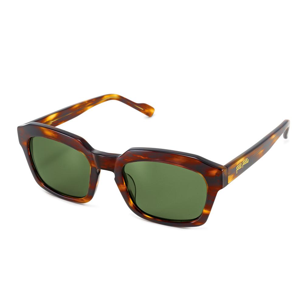 FOLLI FOLLIE – Γυναικεία τετράγωνα γυαλιά ηλίου Folli Follie καφέ