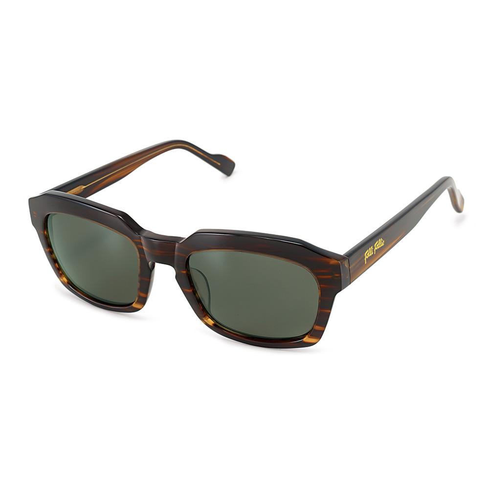 FOLLI FOLLIE - Γυναικεία τετράγωνα γυαλιά ηλίου Folli Follie σκούρο καφέ γυναικεία αξεσουάρ γυαλιά ηλίου