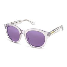 FOLLI FOLLIE-Γυναικεία στρογγυλά γυαλιά ηλίου Folli Follie ημιδιάφανα
