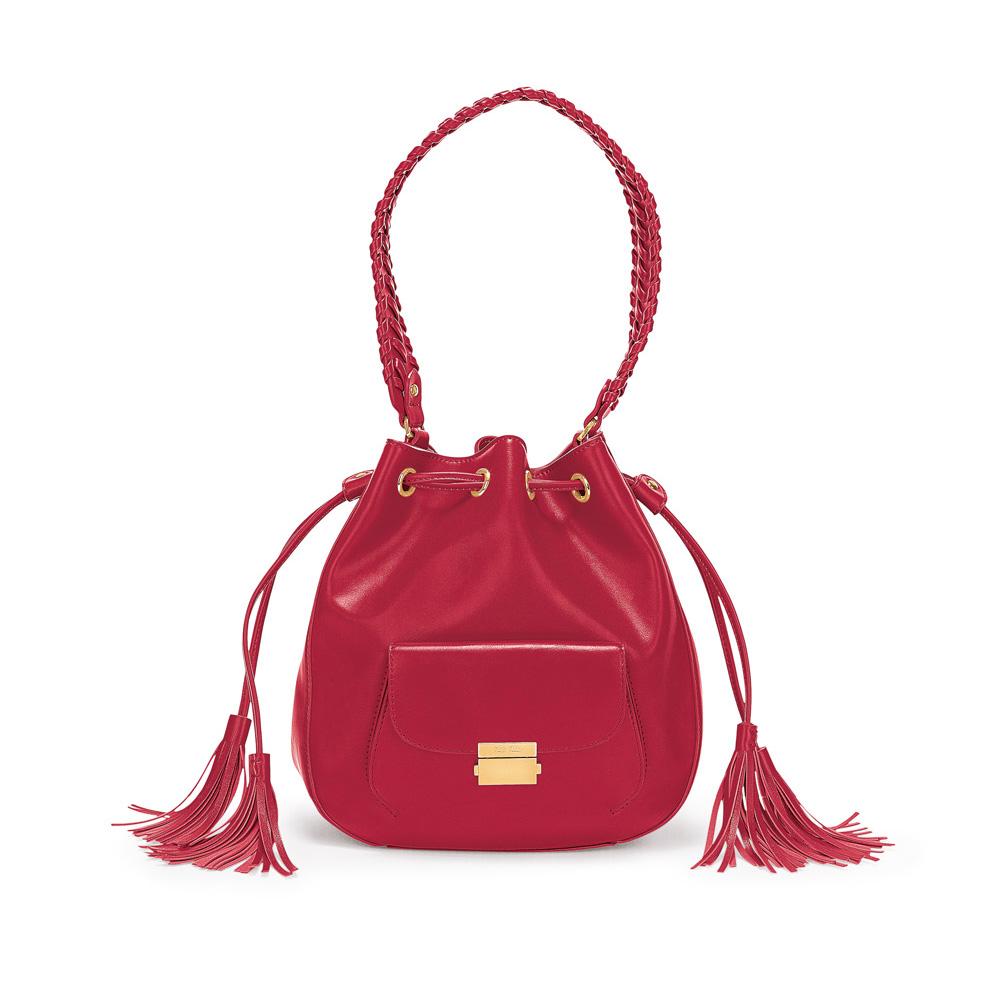 FOLLI FOLLIE – Γυναικεία τσάντα/πουγκί FOLLI FOLLIE κόκκινη 1629163.0-0000