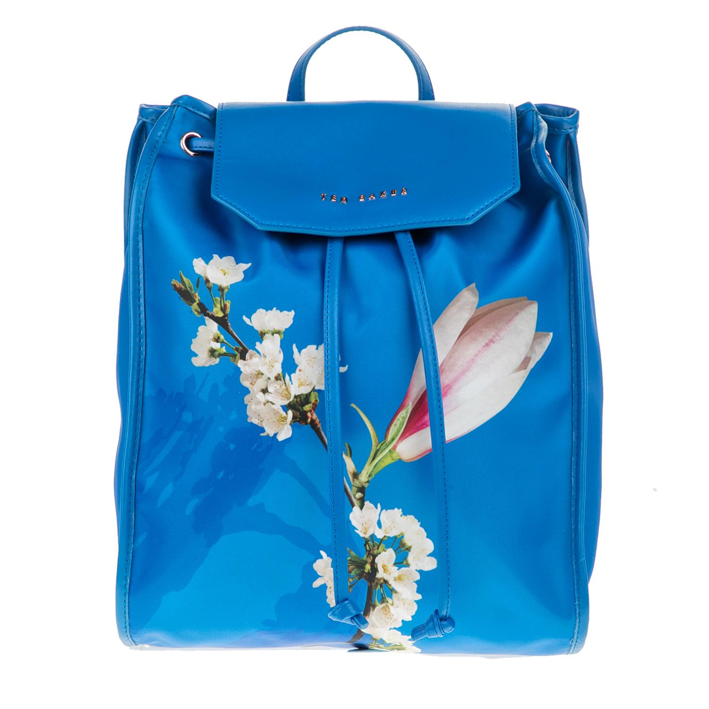 TED BAKER - Γυναικείο σακίδιο πλάτης BAILEEE HARMONY μπλε γυναικεία αξεσουάρ τσάντες σακίδια πλάτης