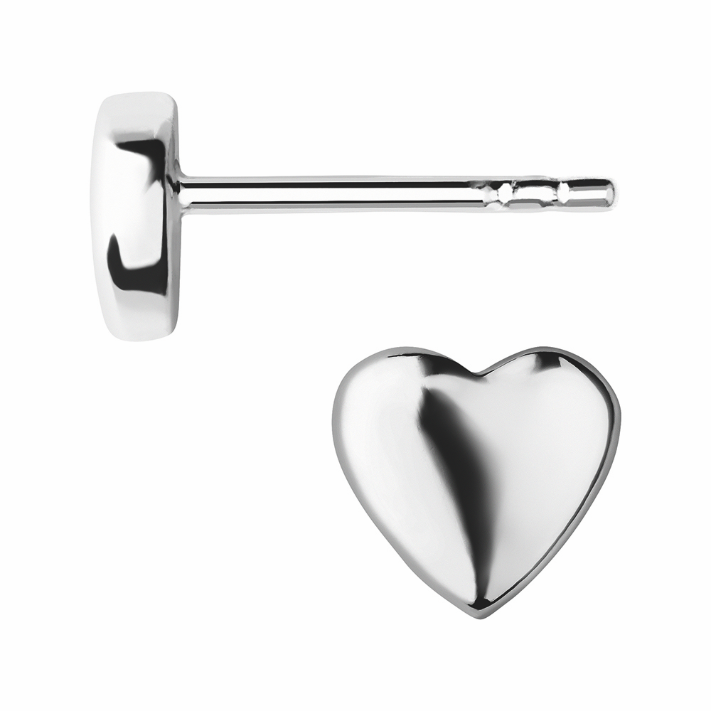 LINKS OF LONDON - Ασημένια σκουλαρίκαι Outlet Heart γυναικεία αξεσουάρ κοσμήματα σκουλαρίκια