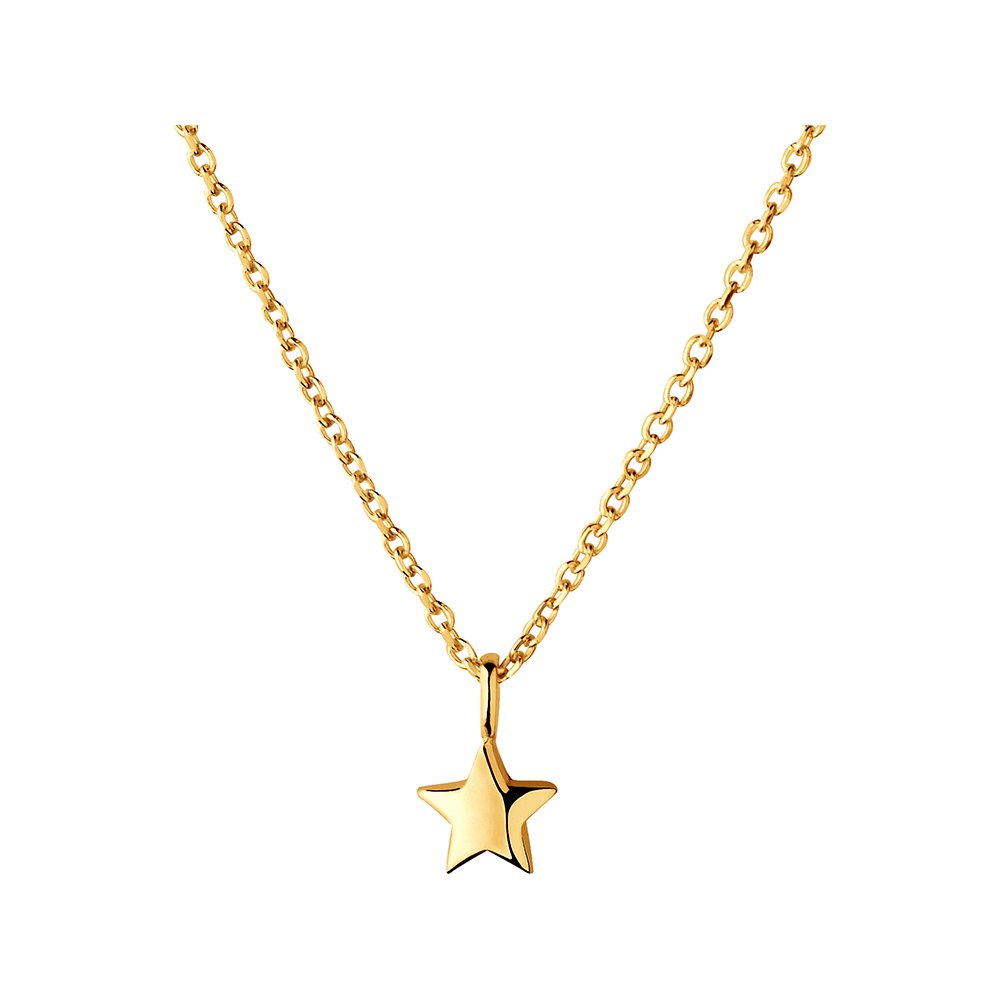 LINKS OF LONDON - Ασημένιο κολιέ Outlet Star Necklace γυναικεία αξεσουάρ κοσμήματα κολιέ