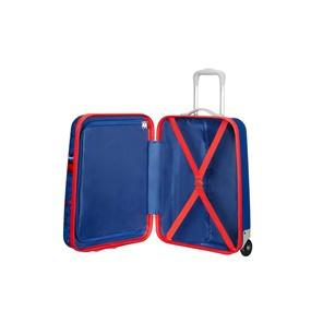 ff8d9ad8e7 AMERICAN TOURISTER. Παιδική βαλίτσα καμπίνας NEW WONDER UP55 SPIDERMAN μπλε
