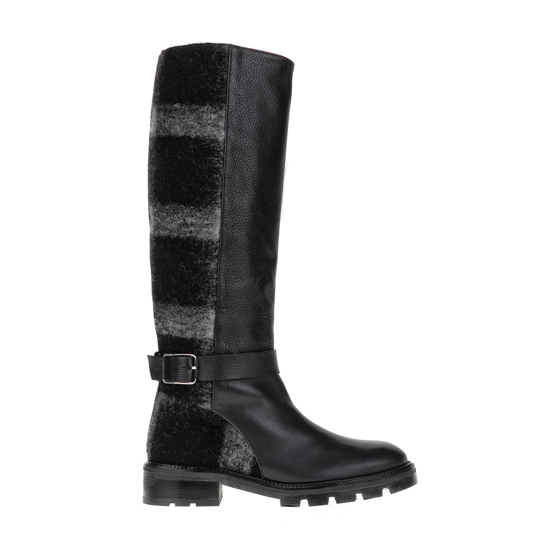 CASTANER – Γυναικείες μπότες CASTANER μαύρες-γκρι