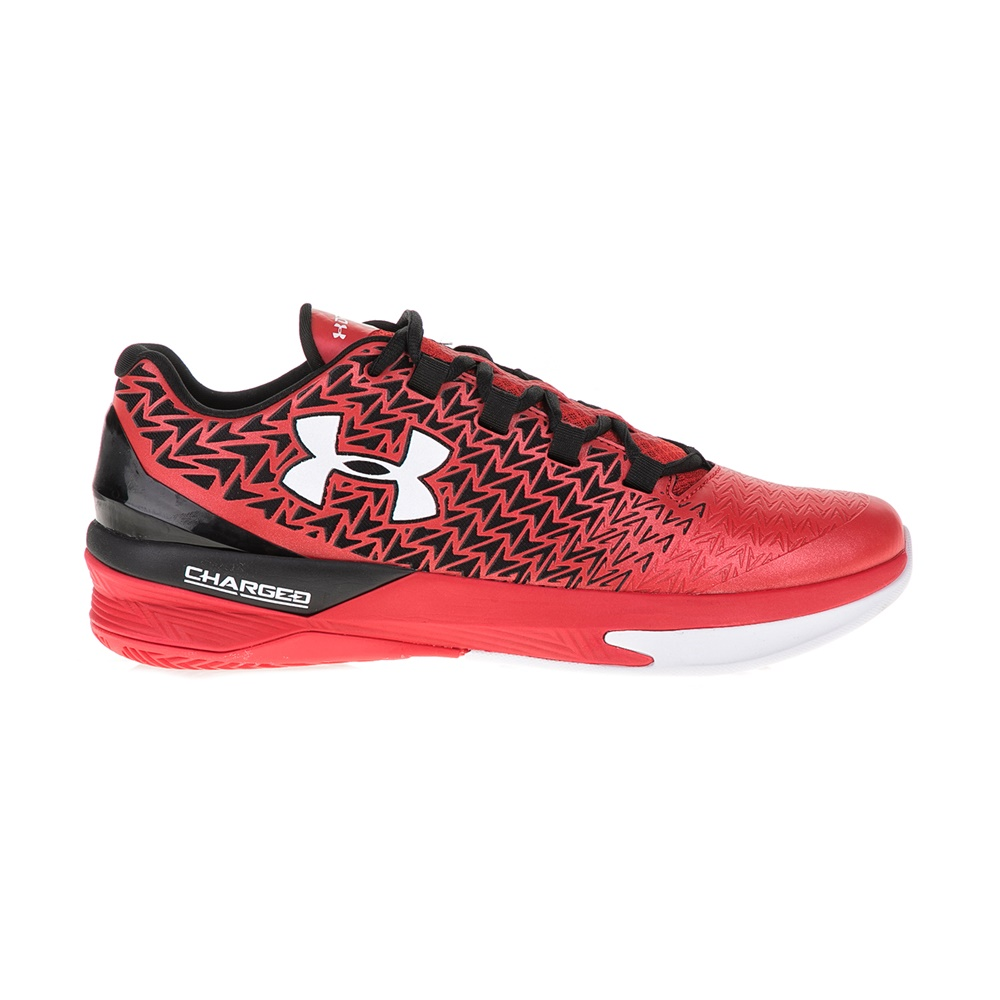 UNDER ARMOUR – Ανδρικά παπούτσια μπάσκετ UNDER ARMOUR CLUTCHFIT DRIVE 3 LOW κόκκινα-μαύρα