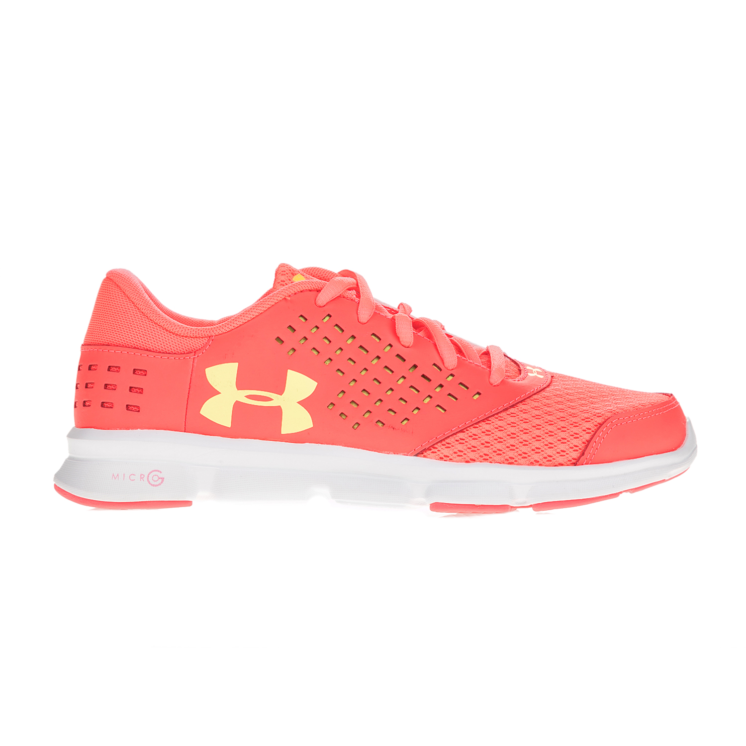 UNDER ARMOUR – Κοριτσίστικα αθλητικά παπούτσια UNDER ARMOUR GGS Micro G Rave RN πορτοκαλί