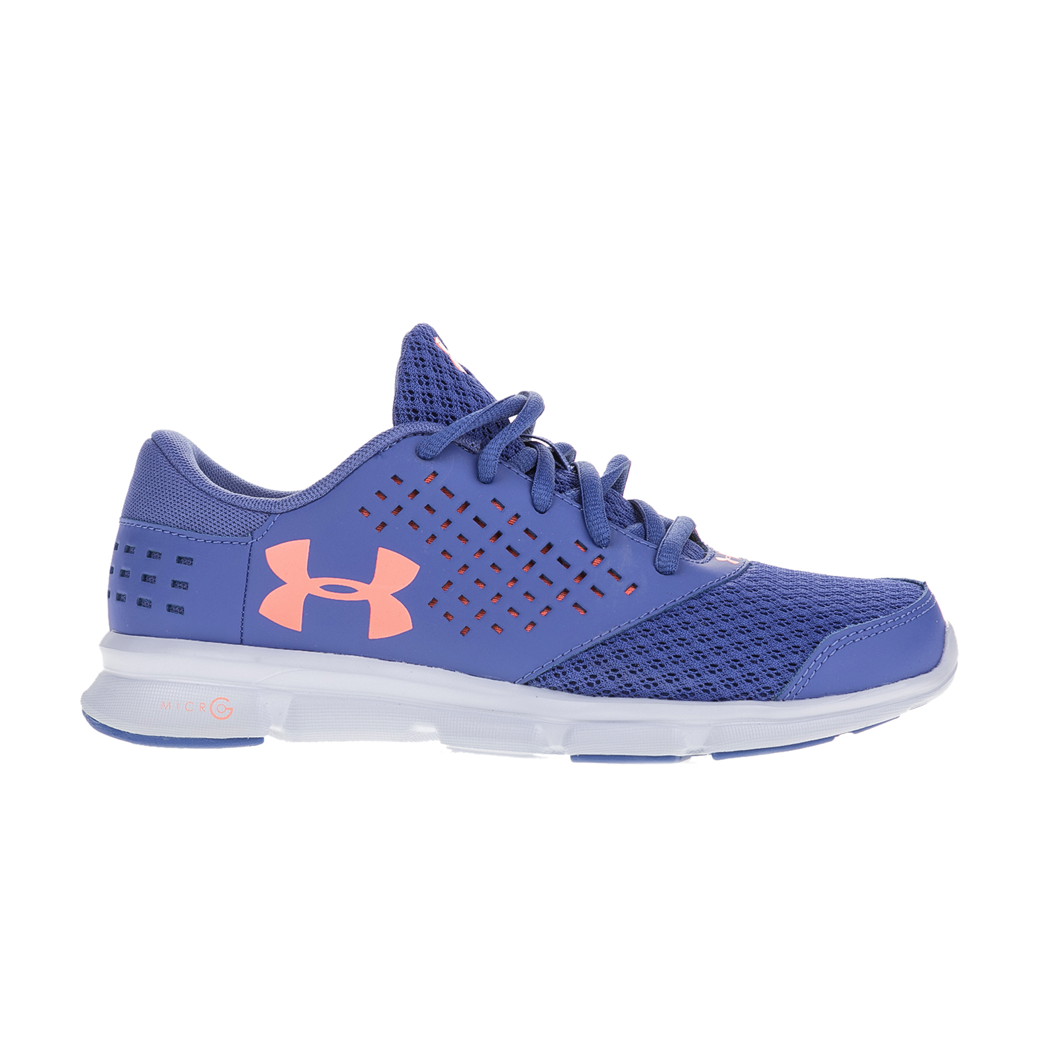 UNDER ARMOUR – Κοριτσίστικα αθλητικά παπούτσια UNDER ARMOUR GGS Micro G Rave RN μοβ