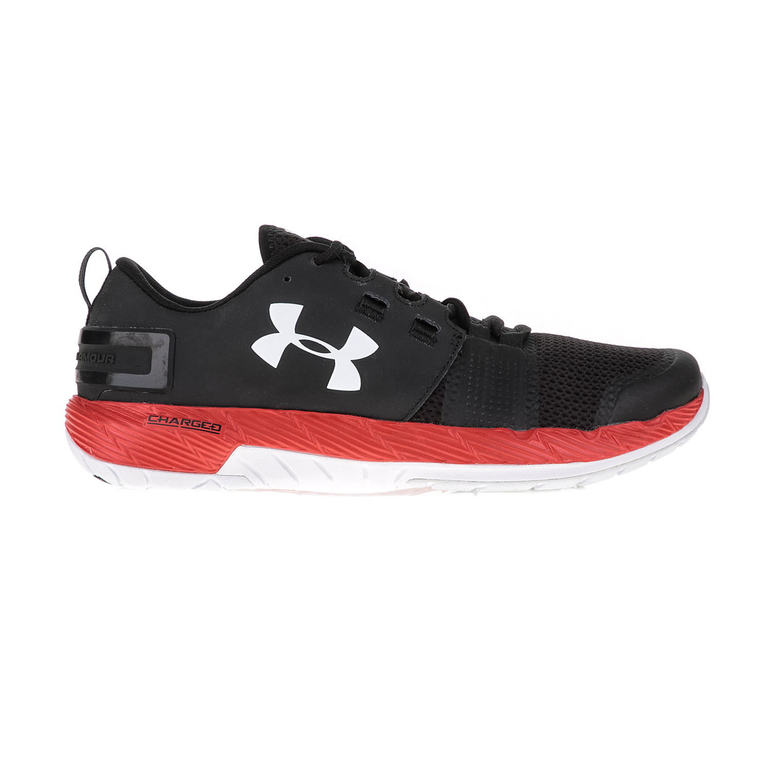 UNDER ARMOUR – Ανδρικά αθλητικά παπούτσια UNDER ARMOUR Commit TR μαύρα-κόκκινα