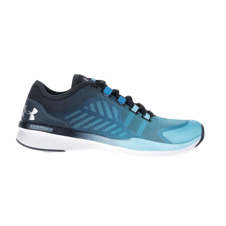 4cffc31e542 UNDER ARMOUR – Γυναικεία αθλητικά παπούτσια UNDER ARMOUR CHARGED PUSH TR  SEG γκρι-μπλε