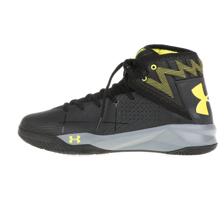 Ανδρικά παπούτσια μπάσκετ UA Rocket 2 μαύρα - UNDER ARMOUR ... 909f0ee4c27