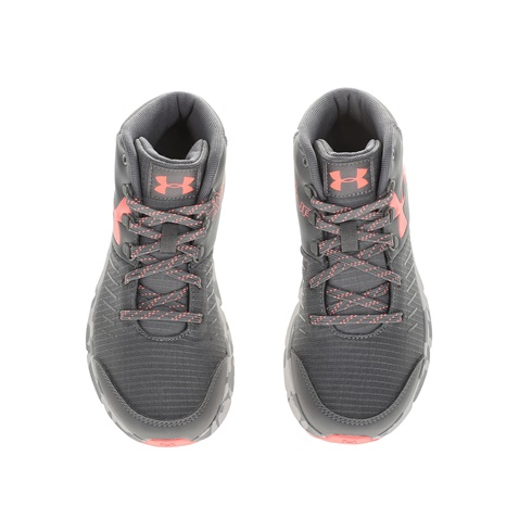 ce8d8f27c4e Κοριτσίστικα αθλητικά παπούτσια UNDER ARMOUR GGS OVERDRIVE MID MARBLE γκρι