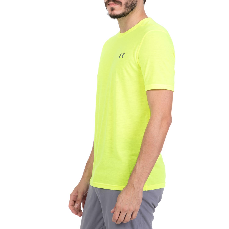 94cf0b2db704 UNDER ARMOUR - Ανδρική κοντομάνικη μπλούζα UNDER ARMOUR THREADBORNE FITTED  κίτρινη