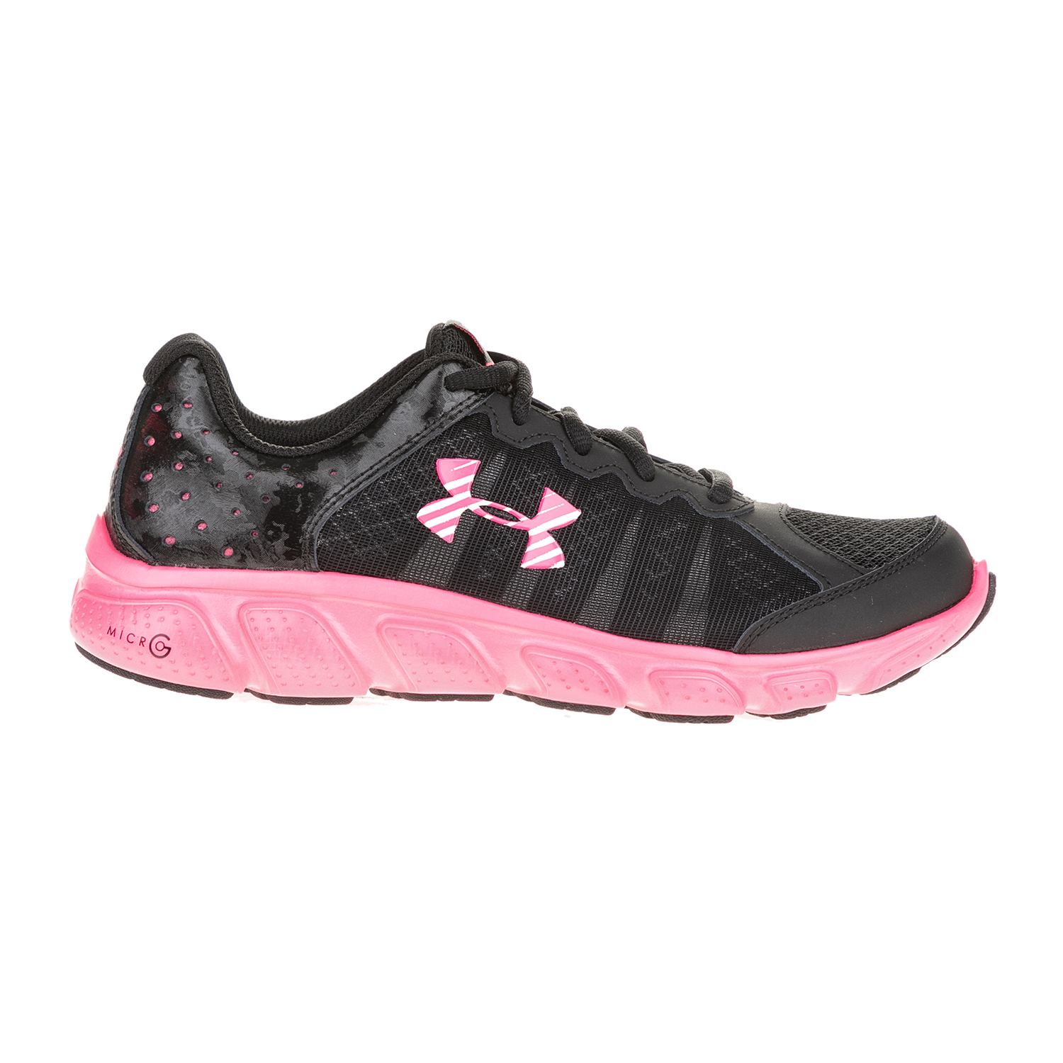 UNDER ARMOUR – Κοριτσίστικα αθλητικά παπούτσια UNDER ARMOUR GGS Micro G Assert 6 μαύρα