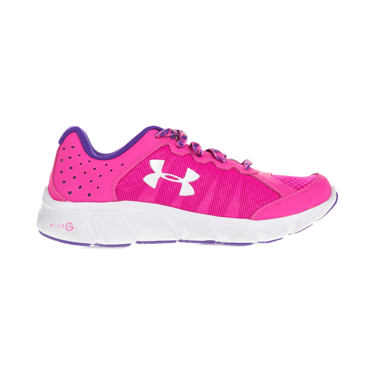 UNDER ARMOUR – Κοριτσίστικα αθλητικά παπούτσια UNDER ARMOUR GGS Micro G Assert 6 φούξια