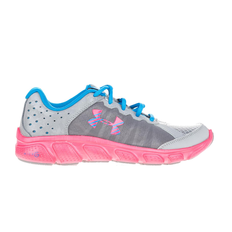 cedb09ad39a UNDER ARMOUR – Κοριτσίστικα αθλητικά παπούτσια UNDER ARMOUR GGS Micro G  Assert 6 γκρι