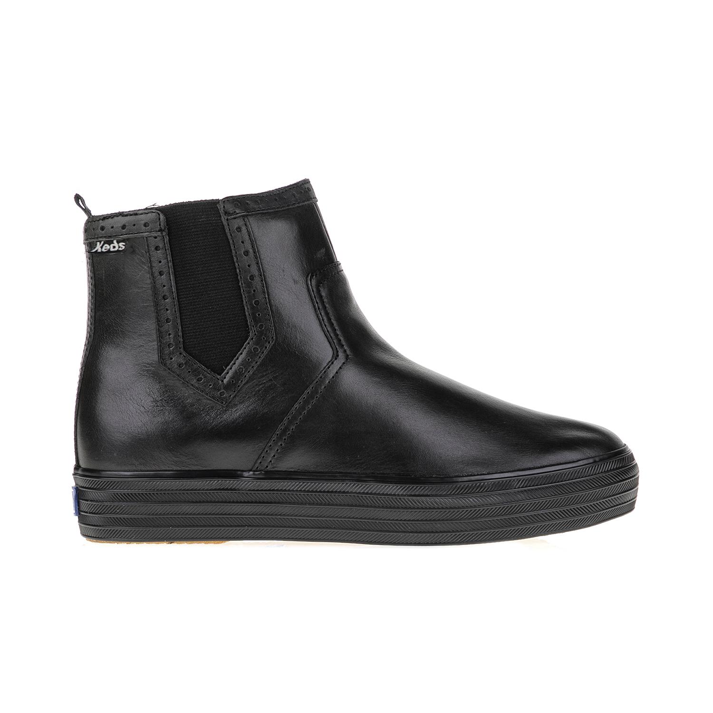 KEDS - Γυναικεία μποτάκια CHELSEA BOOT KEDS μαύρα γυναικεία παπούτσια μπότες μποτάκια μποτάκια