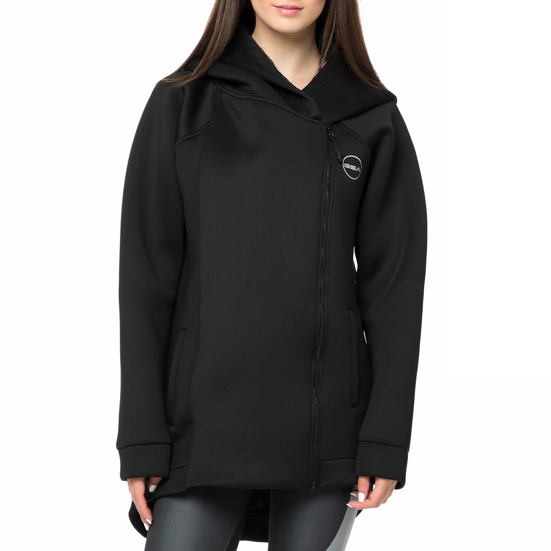 GSA - Γυναικεία ζακέτα GSA SCUBATECH μαύρη γυναικεία ρούχα αθλητικά φούτερ μακρυμάνικα