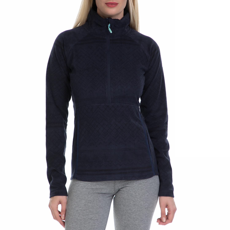 ROXY - Γυναικεία μακρυμάνικη μπλούζα CASCADE J OTLR μαύρη γυναικεία ρούχα αθλητικά φούτερ μακρυμάνικα